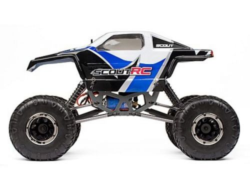 Фото №3 - Автомобиль HPI Racing Maverick Scout RC Rock Crawler 1:10 RTR 430 мм 4WD 2,4 ГГц (MV12501 Blue)