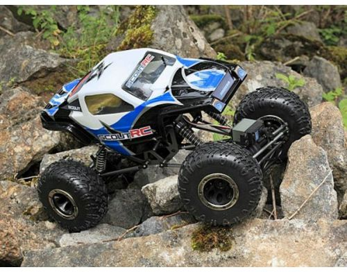 Фото №5 - Автомобиль HPI Racing Maverick Scout RC Rock Crawler 1:10 RTR 430 мм 4WD 2,4 ГГц (MV12501 Blue)