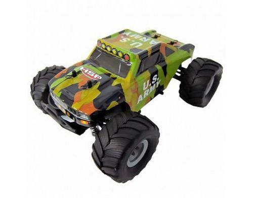 Фото №2 - Автомобиль HSP Racing Bigfoot24 1:24 RTR 165 мм 4WD 2,4 ГГц (HSP94250-B Green)