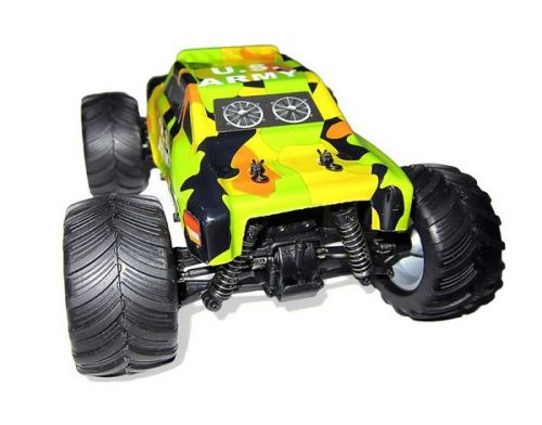 Фото №5 - Автомобиль HSP Racing Bigfoot24 1:24 RTR 165 мм 4WD 2,4 ГГц (HSP94250-B Green)