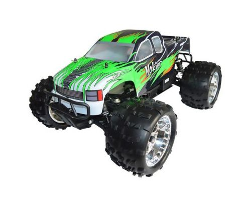 Фото №2 - Автомобиль HSP Racing Nokier Nitro Monster 1:8 RTR 521 мм 4WD 2,4 ГГц (HSP94762 Green)