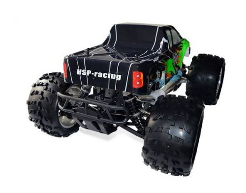 Фото №5 - Автомобиль HSP Racing Nokier Nitro Monster 1:8 RTR 521 мм 4WD 2,4 ГГц (HSP94762 Green)