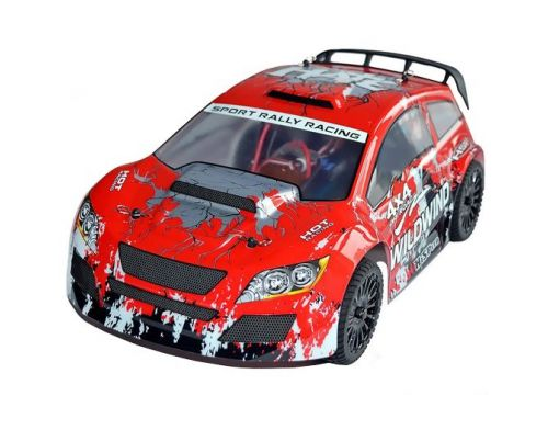 Фото №2 - Автомобиль HSP Racing WildWind Rally 1:14 RTR 370 мм 4WD 2,4 ГГц (HSP94348 Red)