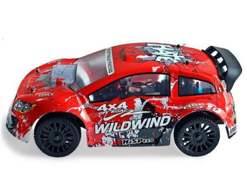 Фото №4 - Автомобиль HSP Racing WildWind Rally 1:14 RTR 370 мм 4WD 2,4 ГГц (HSP94348 Red)