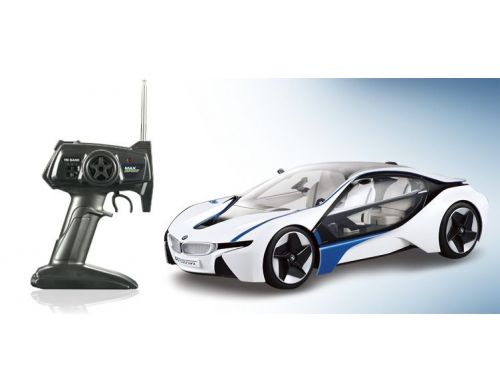 Фото №3 - Автомобиль Max Speed BMW i8 Vision Efficient Dynamics 1:14 RTR 2,4 ГГц (MS-313)