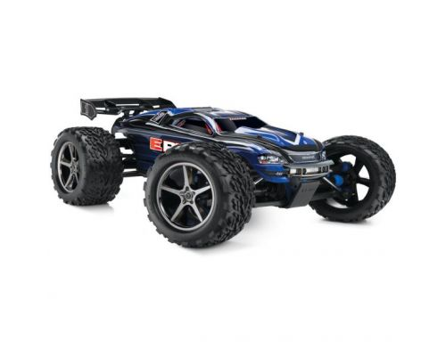 Фото №2 - Автомобиль Traxxas E-Revo Brushless Monster 1:10 RTR 582 мм 4WD 2,4 ГГц (56087-1 Blue)