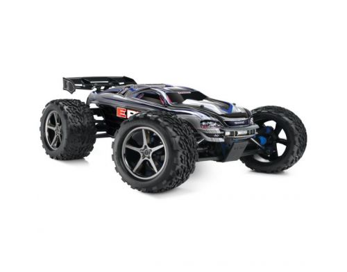Фото №2 - Автомобиль Traxxas E-Revo Brushless Monster 1:10 RTR 582 мм 4WD 2,4 ГГц (56087-1 Silver)