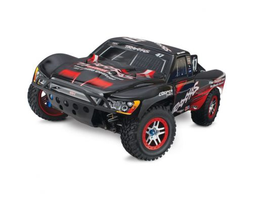 Фото №2 - Автомобиль Traxxas Slash 4x4 Ultimate Brushless Short Course 1:10 RTR 568 мм 4WD 2,4 ГГц (68077-1 Black)