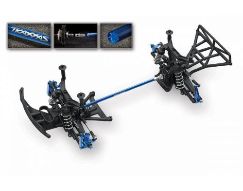 Фото №6 - Автомобиль Traxxas Slash 4x4 Ultimate Brushless Short Course 1:10 RTR 568 мм 4WD 2,4 ГГц (68077-1 Black)
