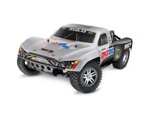 Фото №2 - Автомобиль Traxxas Slash 4x4 Ultimate Scale Brushless Short Course 1:10 RTR 568 мм 4WD 2,4 ГГц (68077-1 Silver)