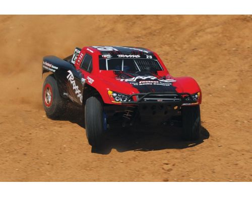 Фото №9 - Автомобиль Traxxas Slash 4x4 Ultimate Scale Brushless Short Course 1:10 RTR 568 мм 4WD 2,4 ГГц (68077-1 Silver)
