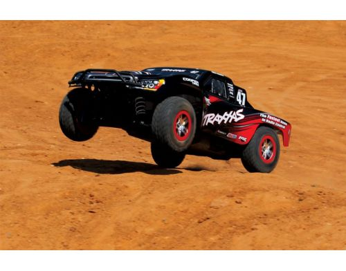 Фото №4 - Автомобиль Traxxas Slash 4x4 Ultimate Scale Brushless Short Course 1:10 RTR 568 мм 4WD 2,4 ГГц (68077-1 Silver)