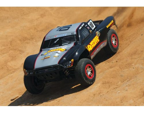 Фото №5 - Автомобиль Traxxas Slash 4x4 Ultimate Scale Brushless Short Course 1:10 RTR 568 мм 4WD 2,4 ГГц (68077-1 Silver)