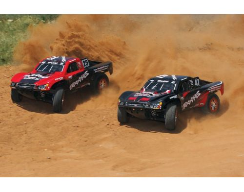 Фото №6 - Автомобиль Traxxas Slash 4x4 Ultimate Scale Brushless Short Course 1:10 RTR 568 мм 4WD 2,4 ГГц (68077-1 Silver)