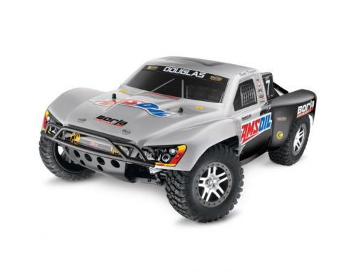 Фото №2 - Автомобиль Traxxas Slash Brushless Short Course 1:10 RTR 568 мм 4WD 2,4 ГГц (68086-1 Silver)