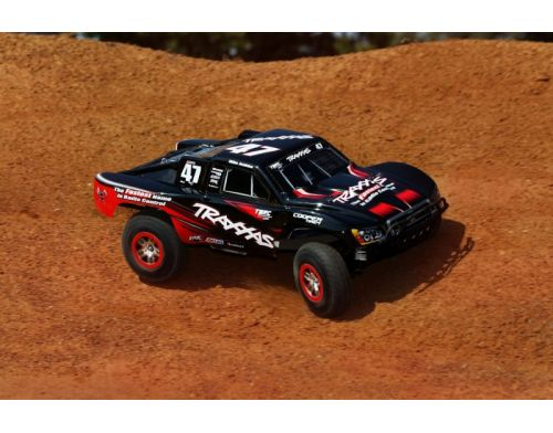 Фото №7 - Автомобиль Traxxas Slash Brushless Short Course 1:10 RTR 568 мм 4WD 2,4 ГГц (68086-1 Silver)