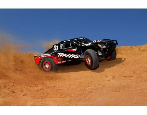 Фото №8 - Автомобиль Traxxas Slash Brushless Short Course 1:10 RTR 568 мм 4WD 2,4 ГГц (68086-1 Silver)