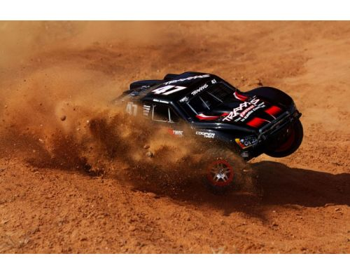 Фото №9 - Автомобиль Traxxas Slash Brushless Short Course 1:10 RTR 568 мм 4WD 2,4 ГГц (68086-1 Silver)