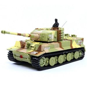 Танк Great Wall Toys German Tiger 1:72 RTR (GW-2117 Sand Camo)