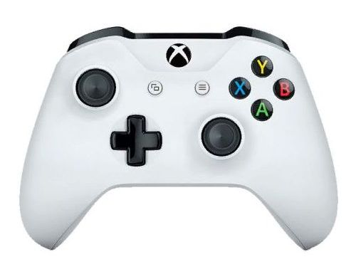 Фото №2 - Microsoft Xbox One S White Wireless Controller