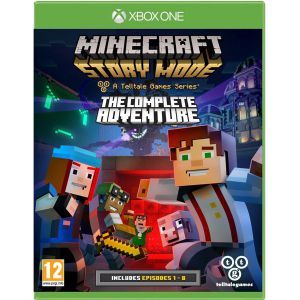 Minecraft Story Mod The Complete Adventure Xbox ONE русские субтитры