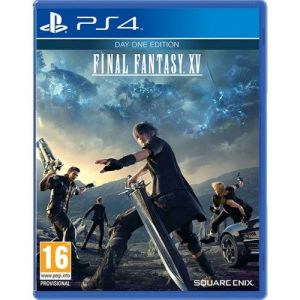 Final Fantasy XV Day One Edition PS4 русские субтитры