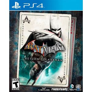 Batman: Return to Arkham Remastered Collection PS4 русские субтитры