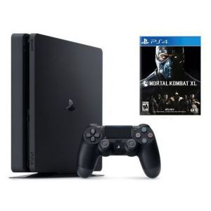 Sony PlayStation 4 SLIM 1 Tb + Игра Mortal Kombat XL (Гарантия 18 месяцев)