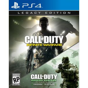 Call of Duty infinite Warfare Legacy Edition + COD Modern Warfare PS4 русские версии