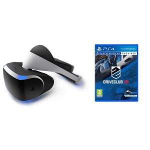 Playstation VR + Игра DriveClub VR