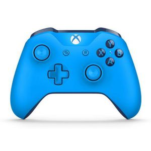 Microsoft Xbox One S Blue Wireless Controller