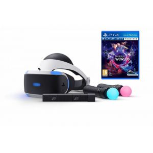 Playstation VR Bundle + Игра VR Worlds