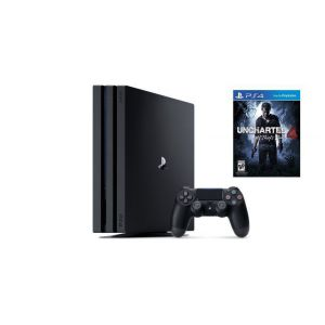 Sony Playstation 4 Pro 1000gb + Игра Uncharted 4