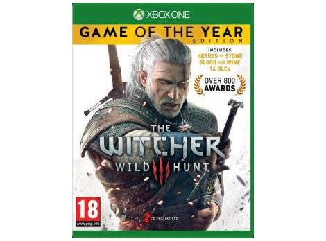 Фото №1 - The Witcher 3 Wild Hunt Game of The Year Edition Xbox ONE русская версия