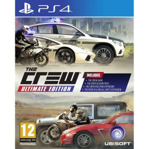 The Crew Ultimate Edition PS4 русская версия