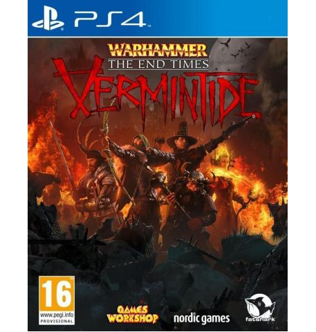 Фото №1 - Warhammer: The End Times Vermintide PS4 английская версия