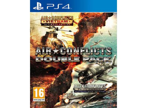 Фото №1 - Air Conflicts: Double Pack PS4 русские субтитры