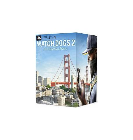 Фото №1 - Watch Dogs 2  Коллекционное издание Сан-Франциско PS4
