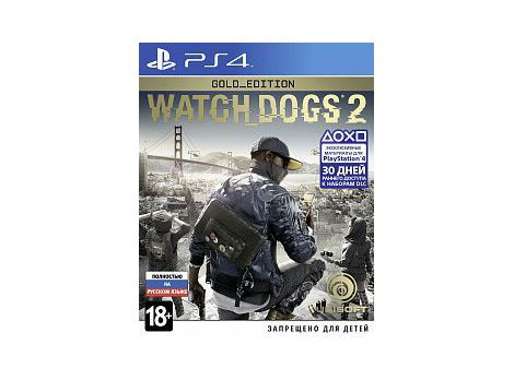 Фото №1 - Watch Dogs 2 Gold Edition PS4