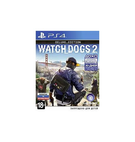 Фото №1 - Watch Dogs 2 Deluxe Edition PS4