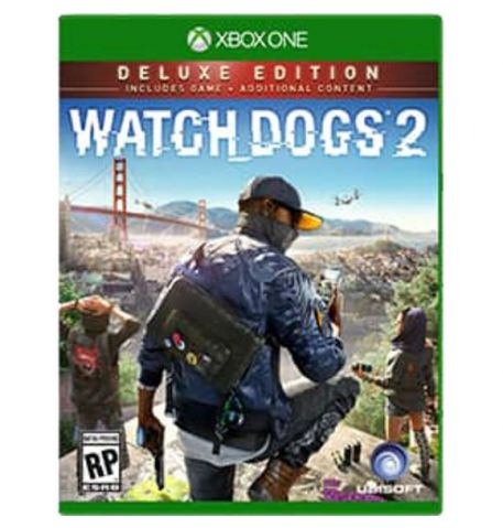 Фото №1 - Watch Dogs 2 Deluxe Edition Xbox ONE