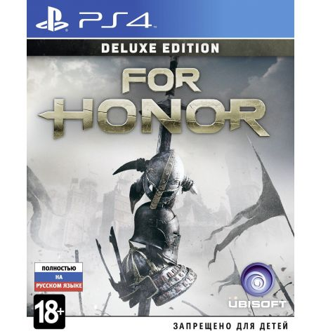 Фото №1 - For Honor Deluxe Edition PS4 русская версия