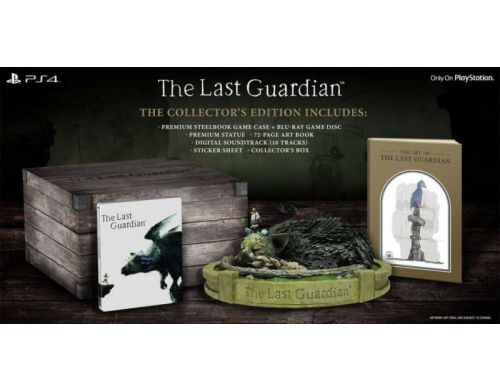 Фото №3 - The Last Guardian Collector's Edition PS4