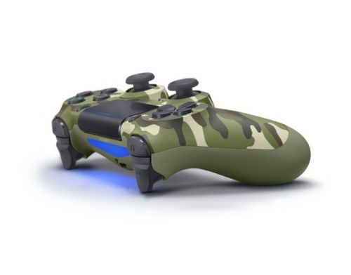 Фото №3 - Sony Dualshock 4 Green Camouflage version 2