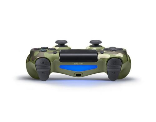 Фото №4 - Sony Dualshock 4 Green Camouflage version 2