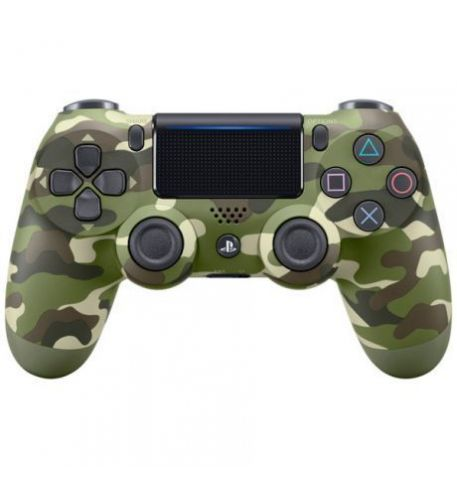 Фото №1 - Sony Dualshock 4 Green Camouflage version 2