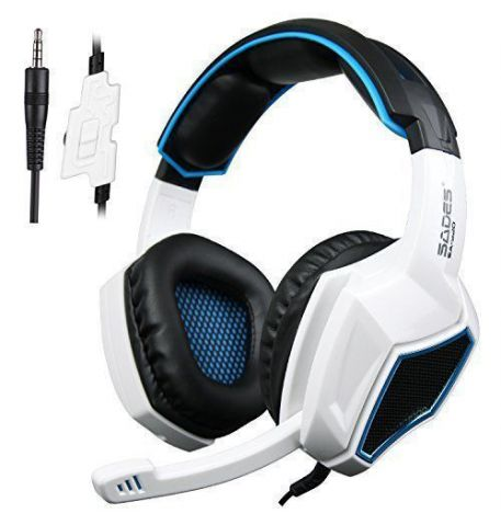 Фото №1 - Sades SA920 Wired Stereo Gaming Over Ear Headphones Xbox ONE