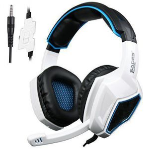 Sades SA920 Wired Stereo Gaming Over Ear Headphones