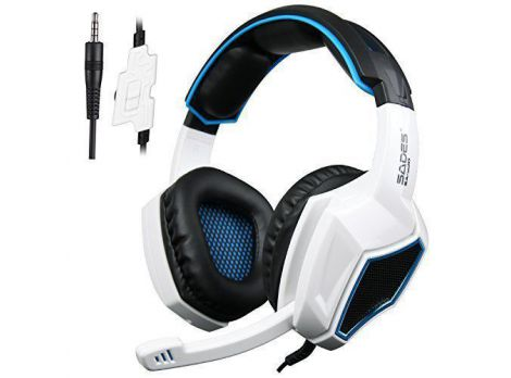 Фото №1 - Sades SA920 Wired Stereo Gaming Over Ear Headphones