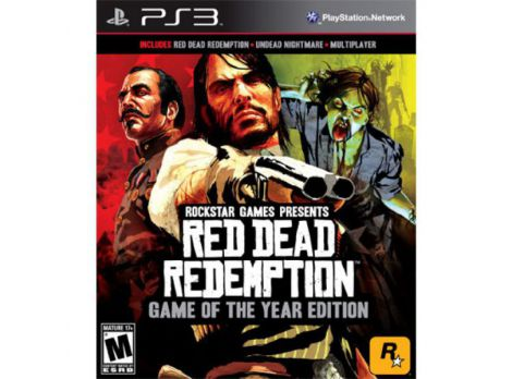 Фото №1 - Red Dead Redemption GOTY PS3